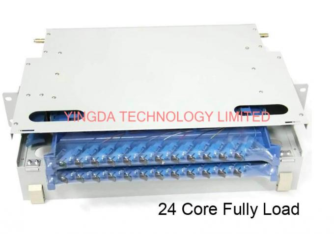 "19"" Fiber Optic Patch Panel"
