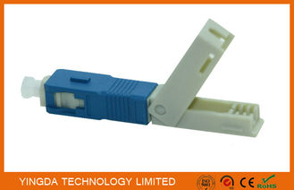 Trung Quốc FTTH Field Mechanical Connector SC / UPC SM SX SC Fast Fiber Optic Connectors nhà cung cấp