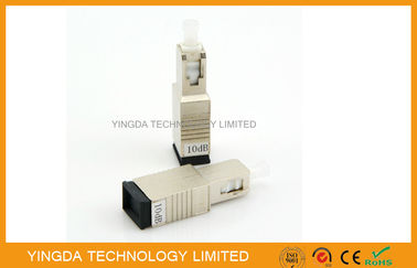 Trung Quốc Metal Fiber Optic Attenuator SC / PC SC FC ST 10 dB Male to Female High Power nhà máy sản xuất