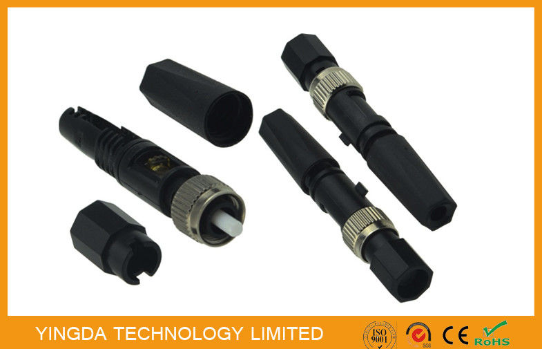 Single Mode Assembly Connector , FC Fiber optic connector Field Installation FTTH nhà cung cấp
