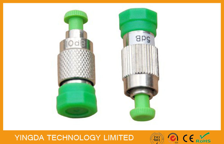 SC, LC , FC , ST, MU Female To Male Fiber Optic Attenuator Plug - in Type (FC APC F-M )