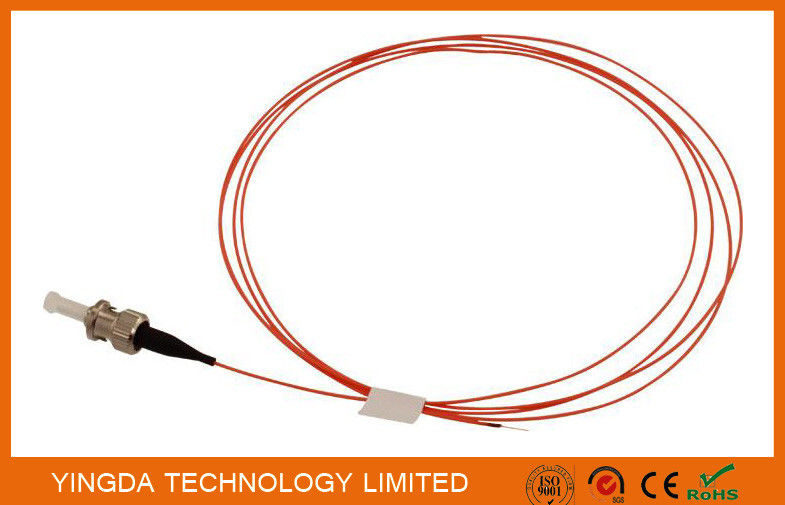 ST MM 50 / 125 um Pigtails 2 Meters 900um Orange OM2 , Fiber Optic Patch Cord ST MM SX nhà cung cấp