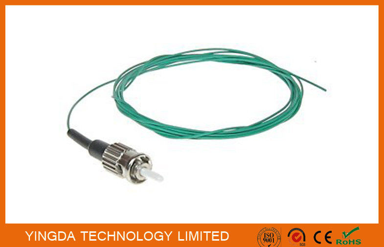 Fiber Optic Pigtail Jumper ST Mulitmode SX 0.9mm Aqua OM3 10 Gigabit Optical Cable nhà cung cấp